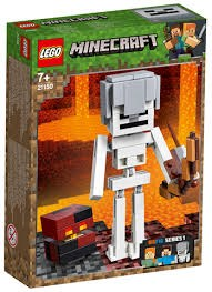 לגו 21150 סקלטון ביג פיג מיינקראפט - Lego 21150 Minecraft Skeleton BigFig with Magma Cube