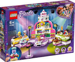 לגו 41393 תחרות אפייה - Lego 41393 Baking Competition Friends