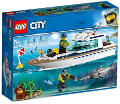 לגו 60221 יאכטה צלילה (LEGO 60221 Diving Yacht City)