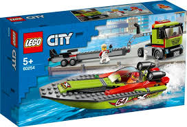 לגו 60254 סירת מירוץ - Lego 60254 Race Boat Transporter City