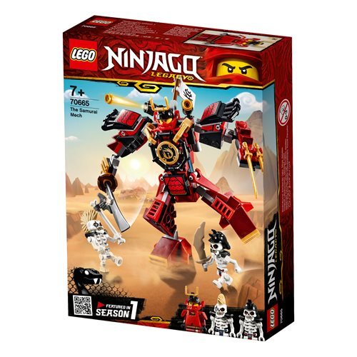 לגו 70665 סמוראי (Lego 70665 The Samurai Mech)