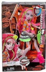 ברבי מונסטר היי MONSTER HIGH מארסיול קאסי MARSIOL
